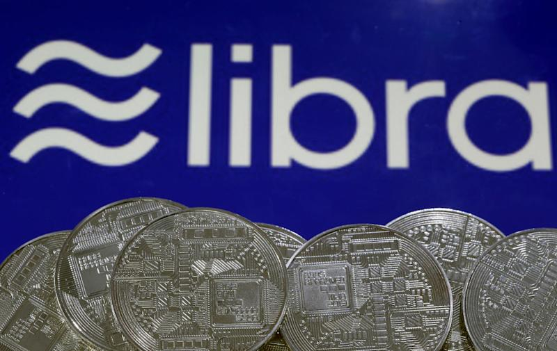 Il logo di Libra (Photo by Chesnot/Getty Images)