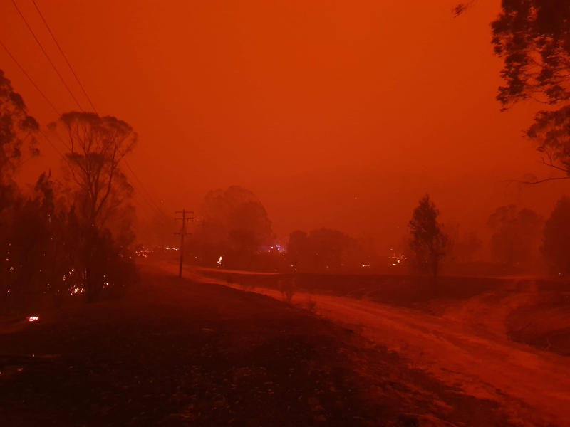 Australia Wildfires Village