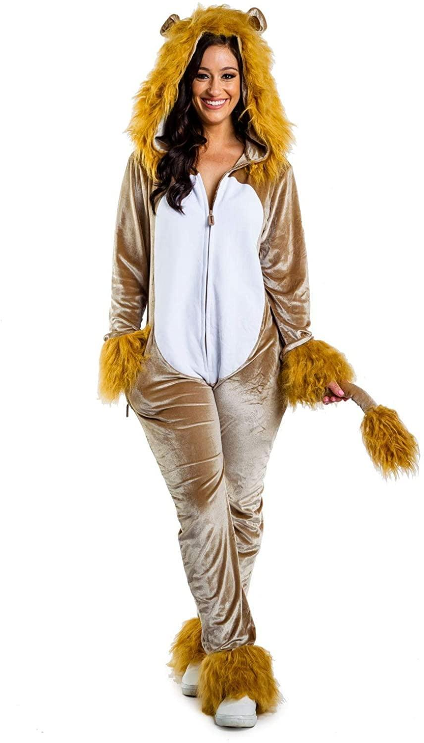 <p>Be the king of the jungle in this <span>Tipsy Elves Lion Halloween Costume</span> ($70).</p>