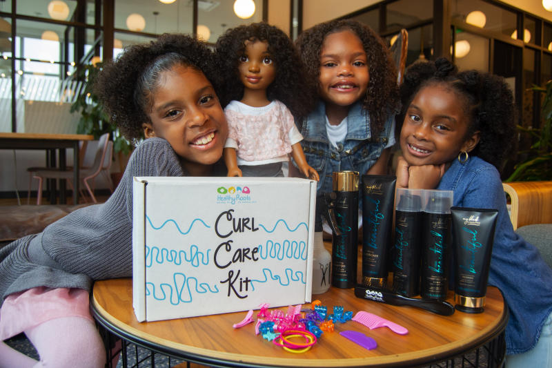 Healthy Roots Dolls has been helping to provide little black girls with a sense of self. (Photo: Healthy Roots Dolls)