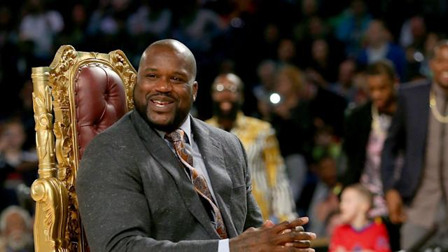 Northampton Town has a surprise follower in its quest for promotion from League Two: NBA legend Shaquille O'Neal.