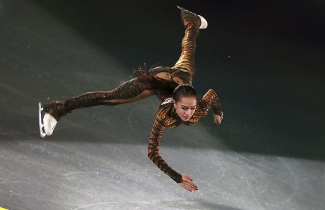 Figure Skating - Pyeongchang 2018 Winter Olympics - Gala Exhibition - Gangneung Ice Arena - Gangneung, South Korea - February 25, 2018 - Alina Zagitova, Olympic Athlete from Russia, performs. REUTERS/Lucy Nicholson