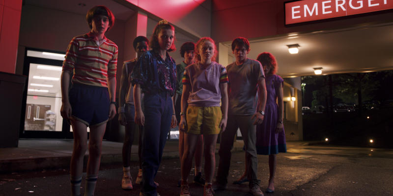 The gang returns to fight Hawkin's monsters in Stranger Things 3. (Photo: Netflix)