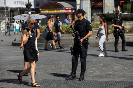 Barcelona Terrorist Suspect: Bigger Attack Was Planned