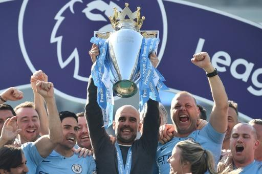 Manchester City won a second straight Premier League title last seasonMore