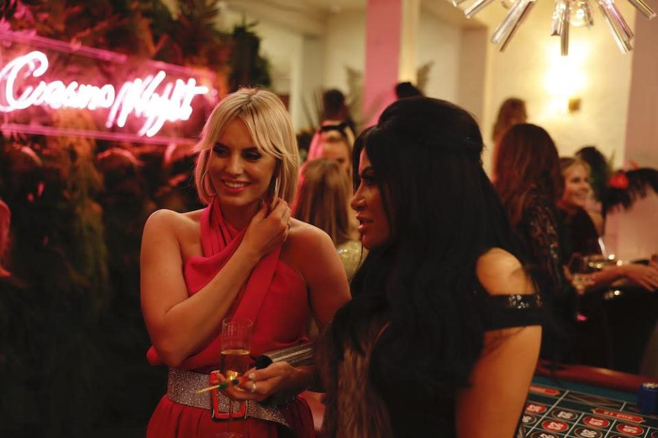 Whitney Rose, left, Jen Shah, right. - Credit: Courtesy of Andrew Peterson/Bravo