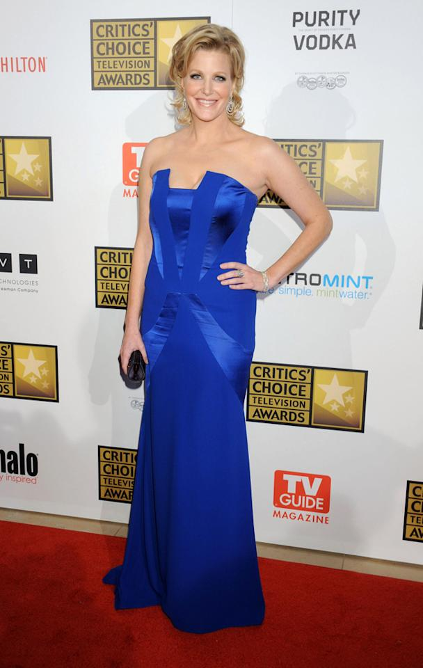 Anna Gunn attends the 2012 Critics' Choice Television Awards at The Beverly Hilton Hotel on June 18, 2012 in Beverly Hills, California.