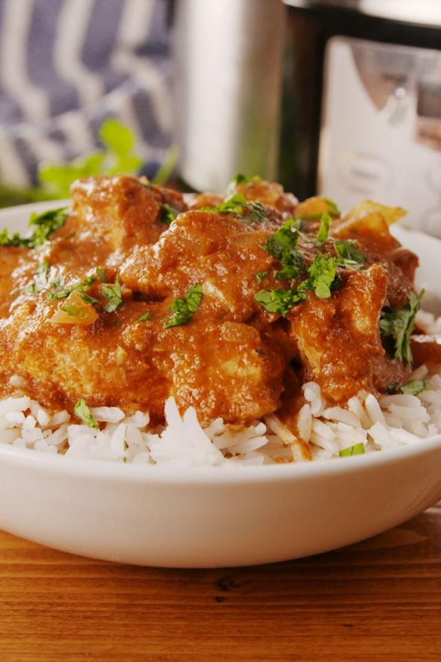 "<p>SO much easier than take-out!</p><p>Get the recipe from <a href=""https://www.delish.com/cooking/recipe-ideas/a22852473/slow-cooker-chicken-tikka-masala-recipe/"" target=""_blank"">Delish</a>.</p>"