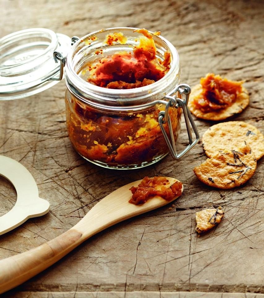 """<p>""""Sweet, savory and delicious – <a href=""""http://www.ediblefeast.com/recipes/shallot-fig-spread"""">this dip</a> is always a hit! It tastes like you went to great lengths, and will top any of the gourmet spreads you'll receive as gifts this holiday season. Best of all, it's easy and make and comes together in no time. You can make it days in advance, and be sure to save the leftovers to use as a spread on toasted sourdough with arugula and a little goat cheese.""""–Terry Walters, <i><a href=""""http://www.amazon.com/Clean-Live-Well-Terry-Walters/dp/1402779275/ref=sr_1_1?ie=UTF8&qid=1450279176&sr=8-1&keywords=eat+clean+live+well"""">Eat Clean, Live Well</a></i><br /></p><p><i>(Photo: Gentyl & Hyers)</i><br /></p>"""