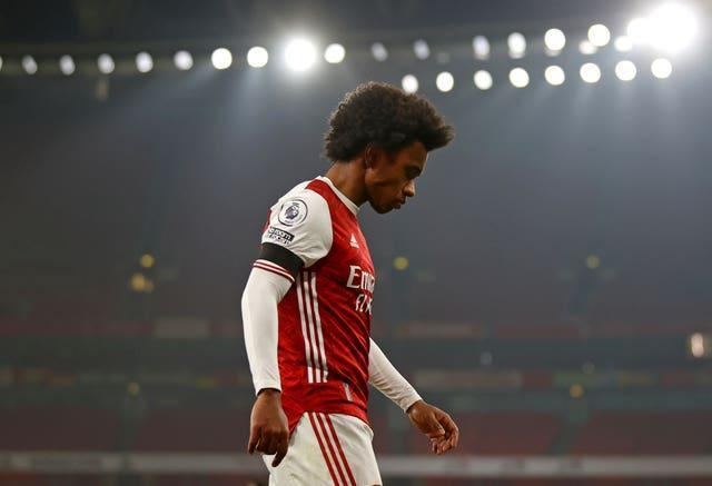 Willian has flattered to deceive at Arsenal (Julian Finney/PA)