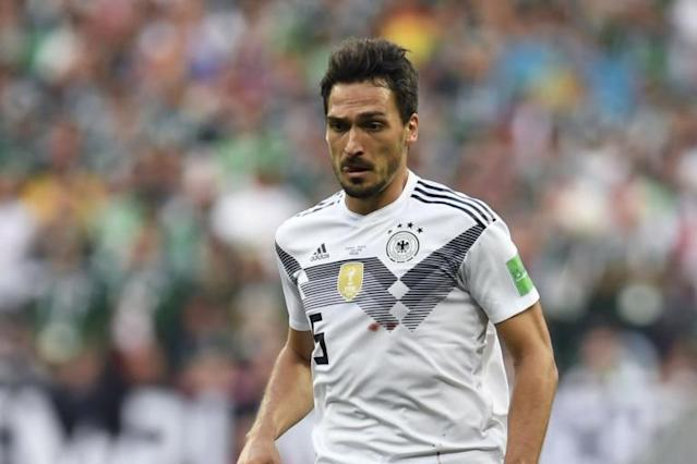 Mats Hummels hits out at Joachim Low tactics as Germany are stunned in World Cup 2018 opener