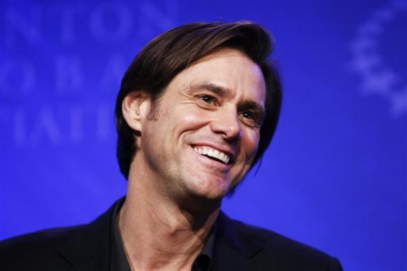 Jim Carrey takes part in a special session discussing empowering the world's smallholder farmers during the Clinton Global Initiative in New York September 22, 2010.