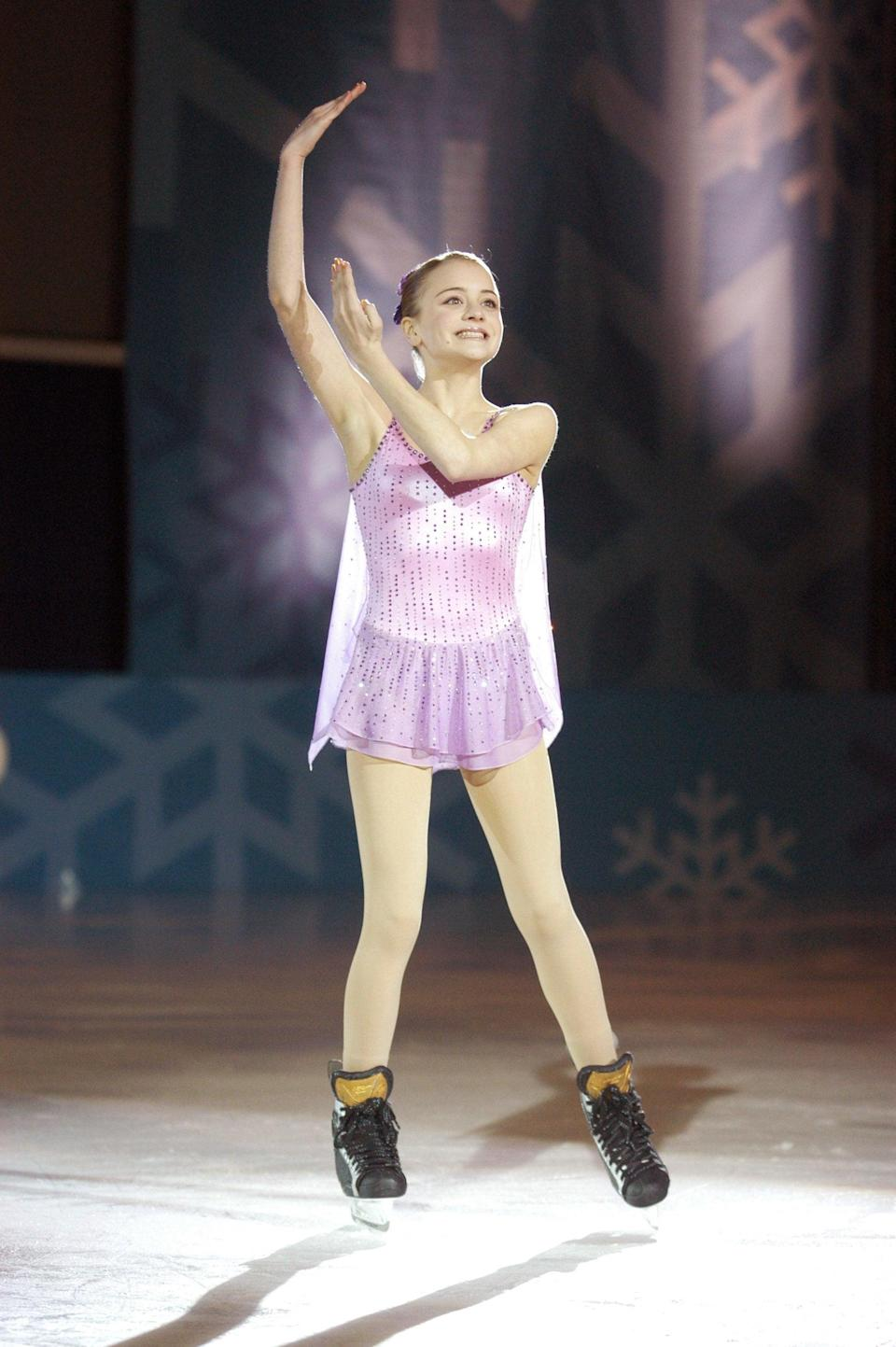 """<p>Teenage figure skater Katelin will do anything to work with a renowned Russian coach, so she nabs herself a scholarship to the elite skating academy. The only catch? She has to play on their hockey team as well, forcing her to lead a double life and hide it from everyone.</p> <p><a href=""""http://www.disneyplus.com/movies/go-figure/5UOvbnFAwSxI"""" class=""""link rapid-noclick-resp"""" rel=""""nofollow noopener"""" target=""""_blank"""" data-ylk=""""slk:Watch Go Figure on Disney+."""">Watch <strong>Go Figure</strong> on Disney+.</a></p>"""