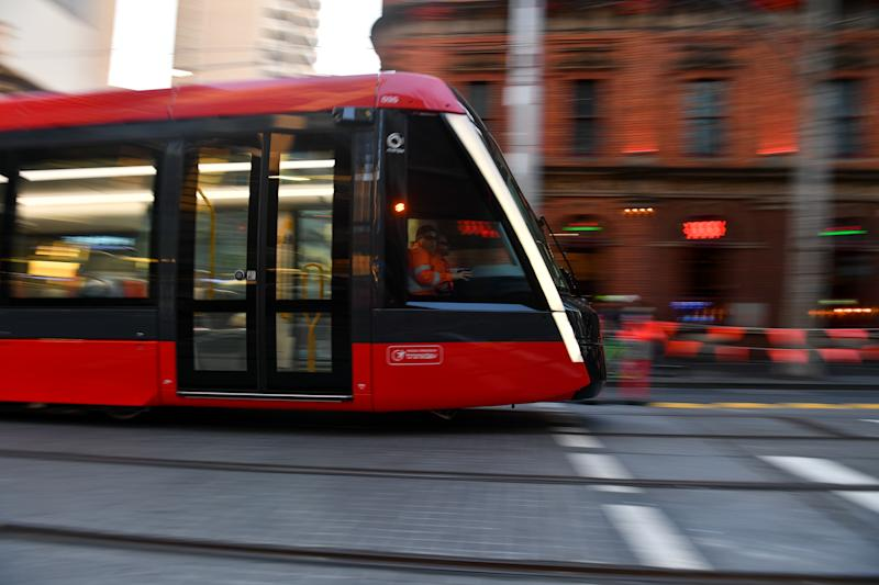 The maximum speeds of trams in certain areas have been lowered. Source: AAP