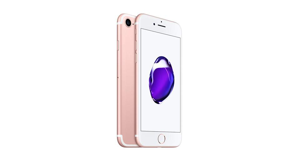"""<a href=""""https://www.amazon.co.uk/Apple-iPhone-Sim-Free-Smartphone-32GB-Rose-Gold/dp/B01LWAXD4R?tag=yahooukedit-21"""" rel=""""nofollow noopener"""" target=""""_blank"""" data-ylk=""""slk:Buy now."""" class=""""link rapid-noclick-resp""""><strong>Buy now.</strong></a>"""