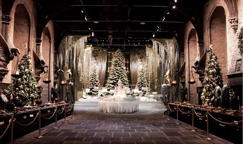 Hogwarts in the snow: The Harry Potter Warner Bros Studio Tour gets a magical makeover for Christmas: Warner Bros Studio Tour