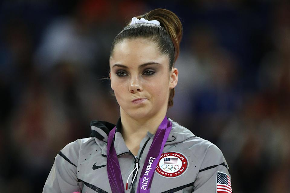 Mckayla Maroney has told of feeling resonance with Britney Spears (Getty Images)