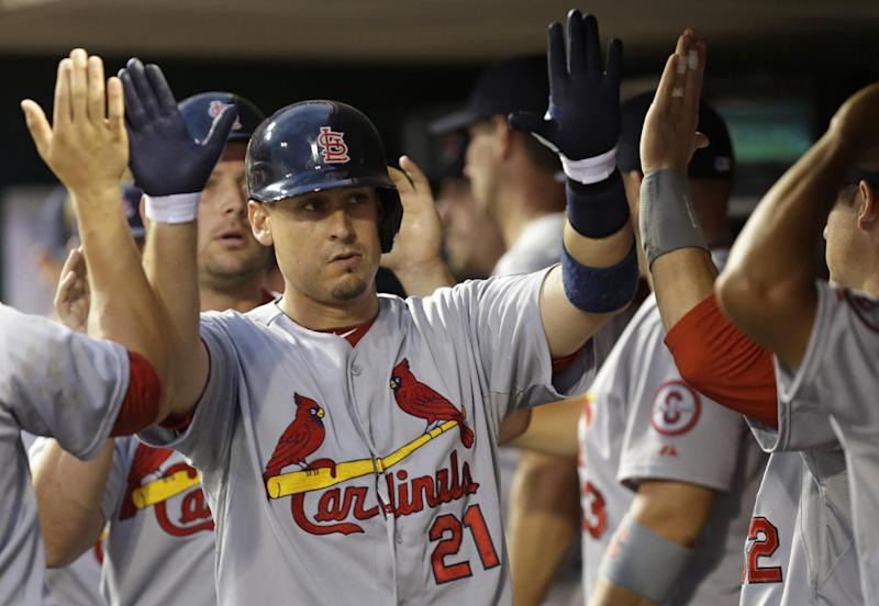Cardinals have another big game, drub Reds 13-3