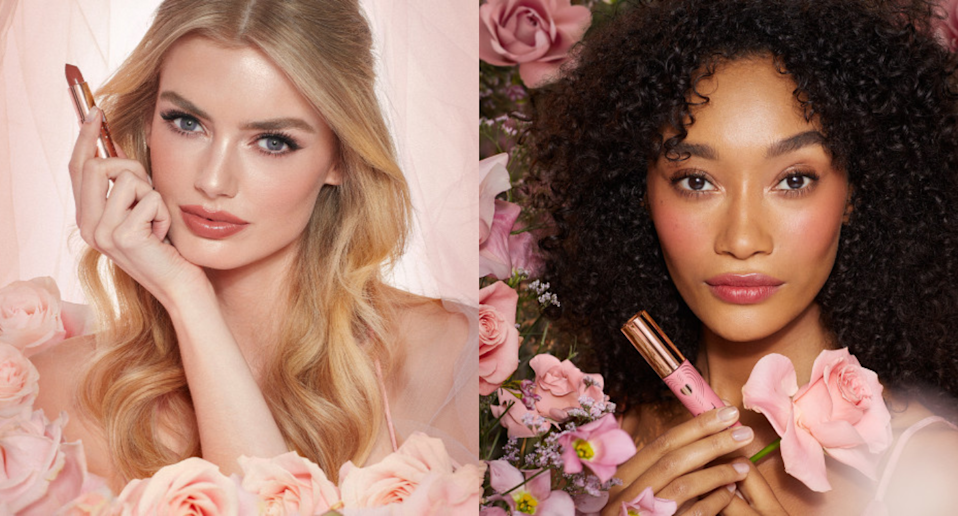 Charlotte Tilbury's new Look of Love Collection is just in time for wedding season. Images via Charlotte Tilbury.
