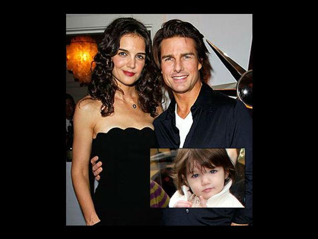 <p><strong>Katie Holmes-Tom Cruise</strong><br /><br />Though her parents may have parted ways, Suri remains one of the most popular star kids on the block. People seem to be mesmerised by her cuteness and certainly cannot get enough of the little fashionista. She is one of the most popular kids with the media and already a fashion icon. <br /><br /></p>