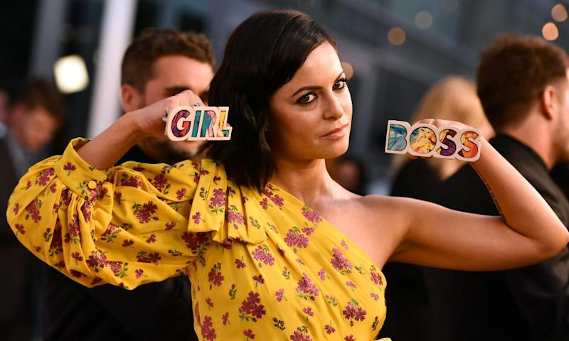 Sophia Amoruso, who popularised the term girlboss, at the premiere of Netflix's Girlboss TV show
