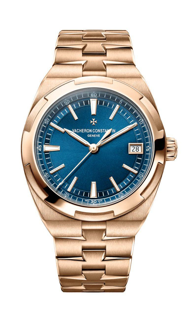 """<p>Overseas Self-Winding</p><p><a class=""""link rapid-noclick-resp"""" href=""""https://www.vacheron-constantin.com/en2/watches/overseas/overseas-self-winding-4500v-110r-b705.html"""" rel=""""nofollow noopener"""" target=""""_blank"""" data-ylk=""""slk:SHOP"""">SHOP</a></p><p>As one of the oldest watch marques in the whole wide world (if not the oldest, but that's up for debate), Vacheron Constantin is on the top shelf of Swiss watches. That's because they're known for wholly classic, hi-spec pieces. But that doesn't mean they're averse to New Things, though.</p><p>Case in point: the Overseas Self-Winding in pink gold. While previously gilding other models in rose gold, pink gold is defined by a smaller copper content, giving it a lighter blush and a subtle newness to the Overseas model. Factor in an impressive movement too (the splendid in-house caliber 5100) and here's a watch that plays to the well-worn strengths of Vacheron Constantin.</p><p>£44,800; <a href=""""https://www.vacheron-constantin.com/en2/watches/overseas/overseas-self-winding-4500v-110r-b705.html"""" rel=""""nofollow noopener"""" target=""""_blank"""" data-ylk=""""slk:vacheronconstantin.com"""" class=""""link rapid-noclick-resp"""">vacheronconstantin.com</a></p>"""