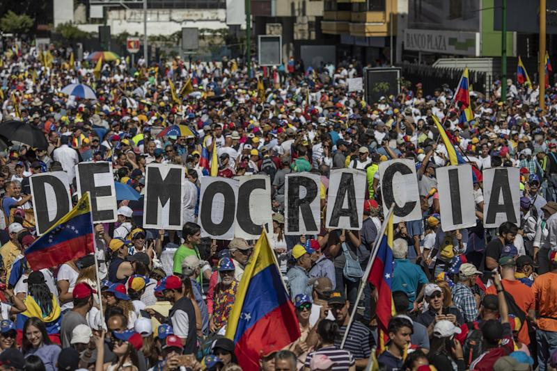 Image result for venezuela protests barrio