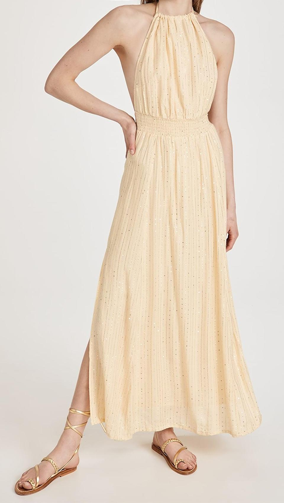 <p>This <span>Sundress Lauriana Dress</span> ($156) is backless, and we love it.</p>