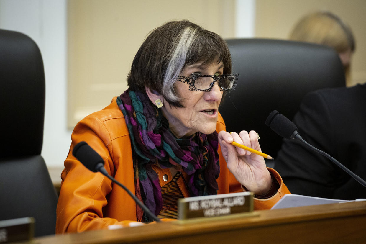 """The """"Medicare for America"""" proposal that Rep. Rosa DeLauro (D-Conn.) co-sponsored calls for less dramatic cuts to hospitals, relative to some assessments of the Sanders plan. But the coverage would be less generous. (Al Drago via Getty Images)"""
