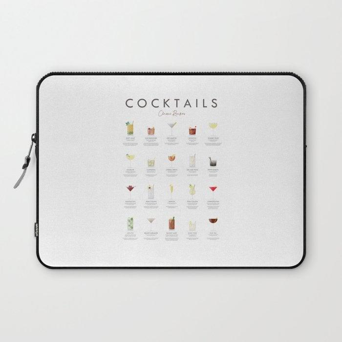 <p>Hands down, this <span>Cocktail Chart Laptop Sleeve</span> ($27, originally $39) is one of the coolest.</p>