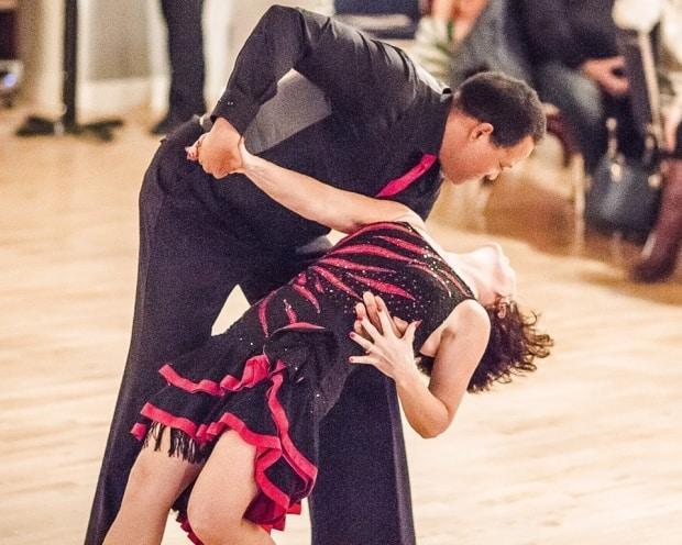 Dr. Neville Headley dancing the tango. (Photo courtesy of Neville Headley - image credit)