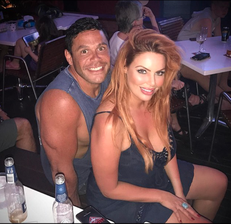 Sparks are flying between Sarah Rozza and Telv Williams, who are still very much in love after the show wrapped up filming. Source: Nine