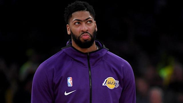 Anthony Davis will sit out Wednesday's game against the Golden State Warriors.