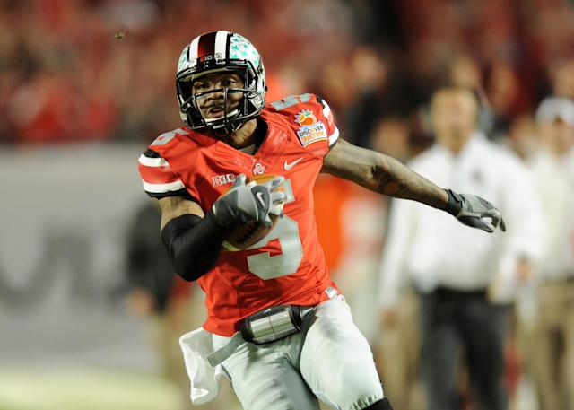 Ohio State quarterback Braxton Miller 'isn't likely to take a snap' in Spring practice, team says
