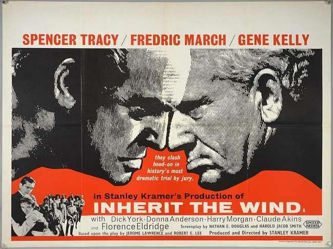 A poster of <i>Inherit the Wind.</i>