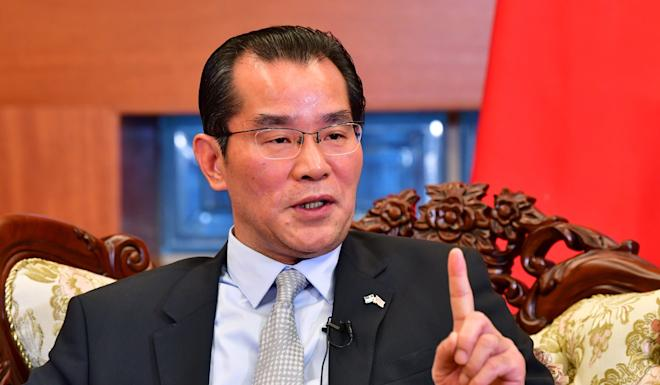 China's ambassador to Sweden Gui Congyou said granting an award to Gui Minhai would harm relations between the two countries. Photo: EPA-EFE
