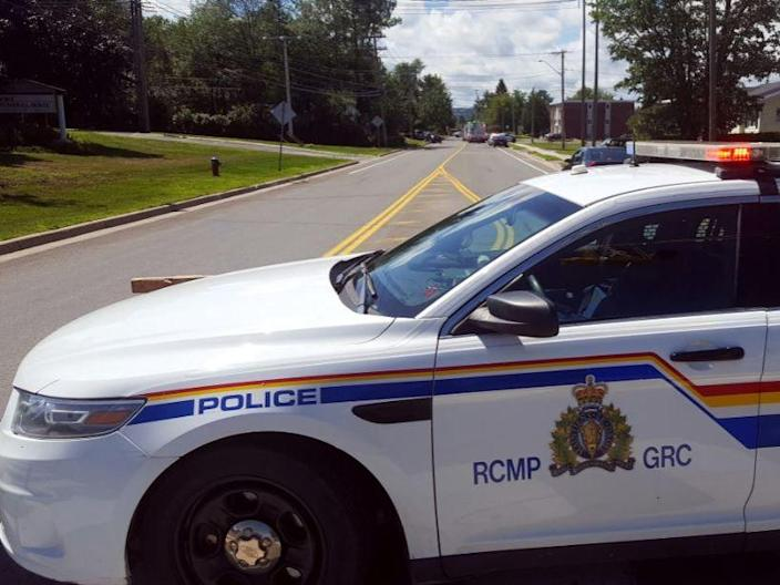 A Royal Canadian Mounted Police (RCMP) car: Reuters