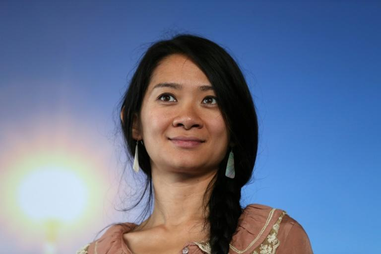 "Beijing-born director Chloe Zhao is seen as the frontrunner for the best director Oscar for her road movie ""Nomadland"""