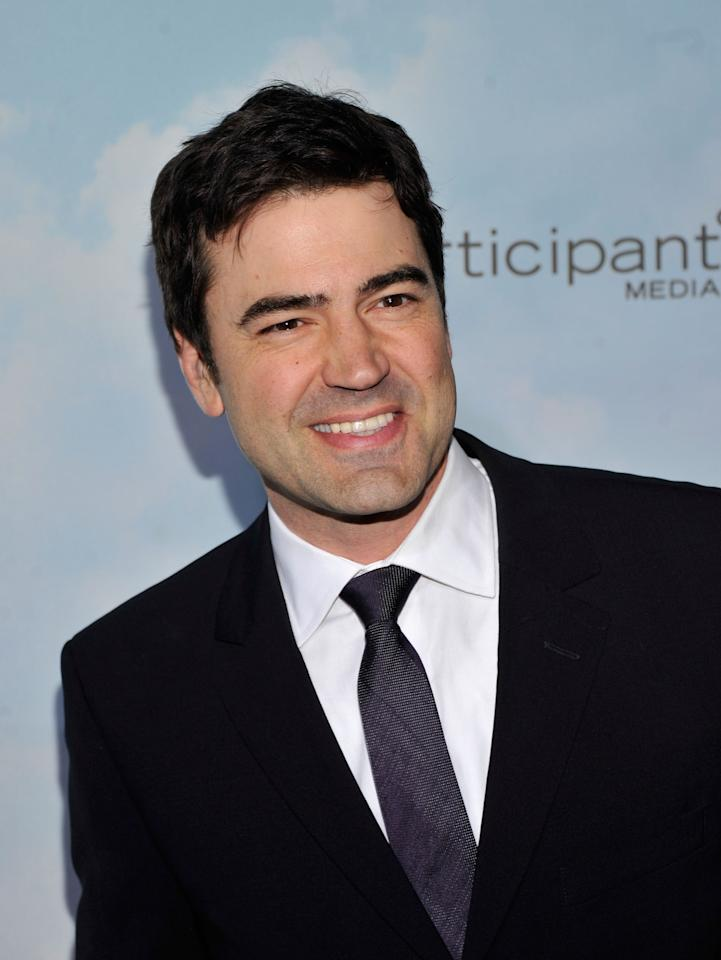 "NEW YORK, NY - DECEMBER 04: Actor Ron Livingston attends ""Promised Land"" premiere at AMC Loews Lincoln Square 13 theater on December 4, 2012 in New York City.  (Photo by Stephen Lovekin/Getty Images)"