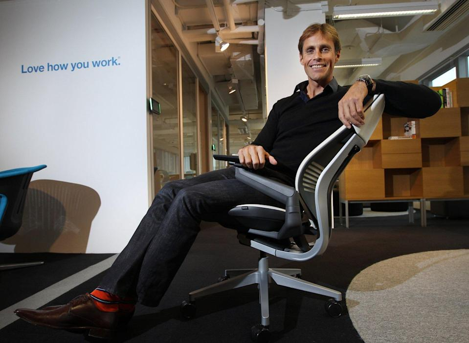 Demand for flexible workspaces is growing, says Steelcase Asia Pacific president Uli Gwinner. Photo: Handout