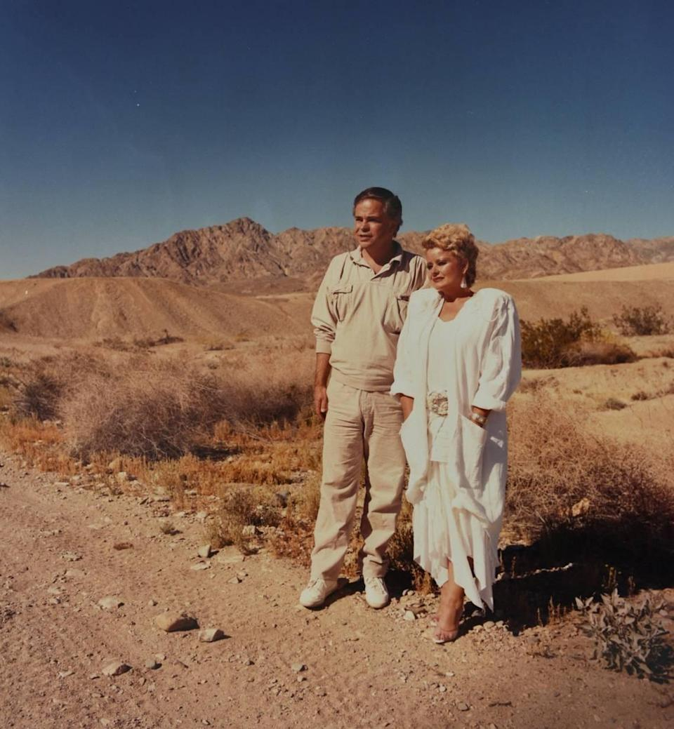 From the Charlotte Observer archives: Jim and Tammy Bakker in Palm Springs, California, in 1988.