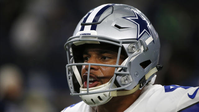 The Cowboys have been all-in on quarterback Dak Prescott. (AP)