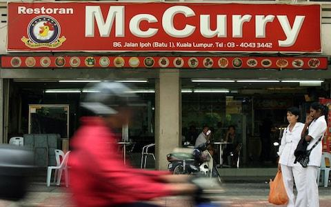 McCurry Restaurant In Malaysia - Credit: Goh Seng Chong/Bloomberg