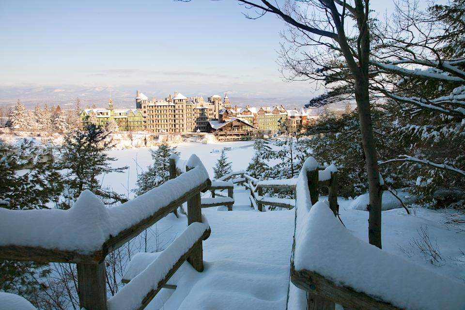 There's the traditional and some new holiday attractions in 2020 at the Mohonk Mountain House.