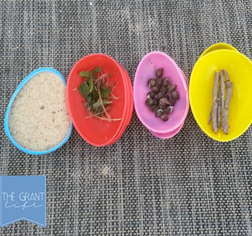 "<p>After the main hunt is over, send the kids out on a ""reverse hunt"" — instead of looking for eggs that are filled, get them to find bits of nature that can fill the eggs up again. It's great for getting them to run around outside and explore nature.</p><p><em><a href=""https://crystalandcomp.com/activities-for-kids-reverse-easter-egg-hunt/"" rel=""nofollow noopener"" target=""_blank"" data-ylk=""slk:Get the tutorial at Crystal & Co. »"" class=""link rapid-noclick-resp"">Get the tutorial at Crystal & Co. »</a></em></p>"