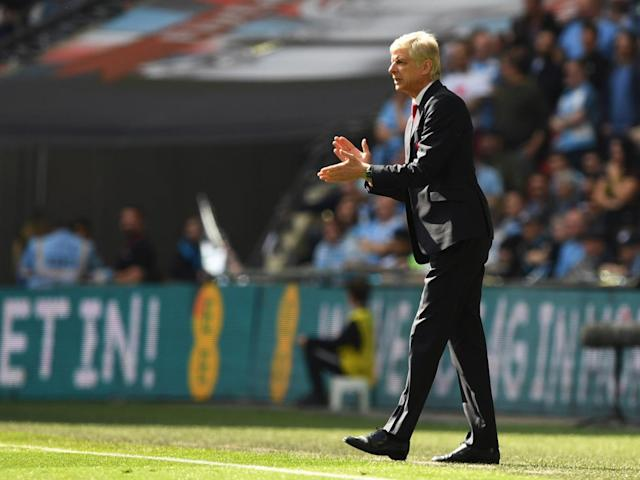 Wenger is beginning to experiment with a 3-5-2 formation (Getty)