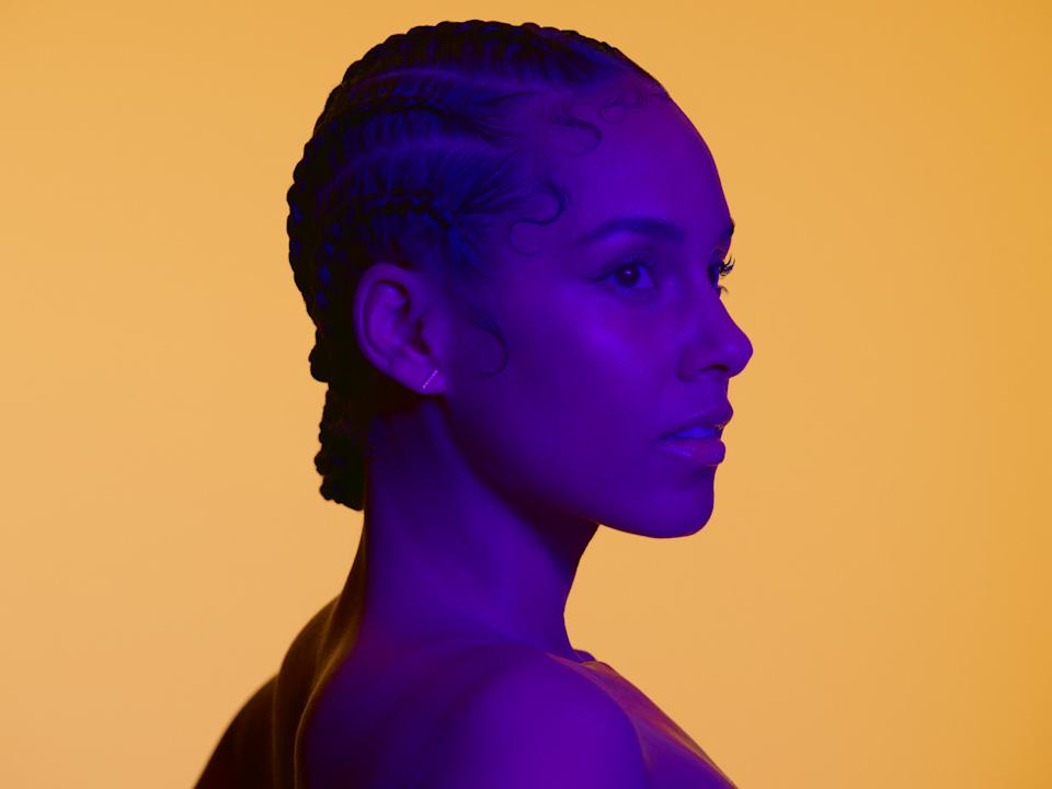 "Keys says, ""I might be really comfortable in one part of my skin, but then these other parts, actually the vulnerable part, that's a very new sensation for me."" (Photo: Courtesy Milan Zirnic, RCA Records)"