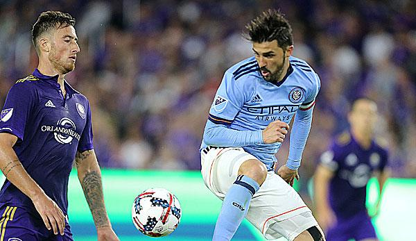 International: MLS: David Villa verlängert in New York