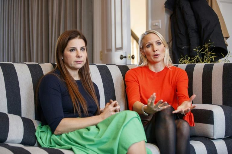Co-founders Debbie Wosskow (L) and Anna Jones said members can invite men as guests