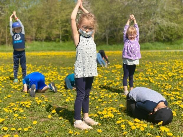 There's no ambiguity about dandelions at Sussex Elementary School, in Sussex, N.B., which tweeted this photo last week, captioned: We couldn't resist playing amongst all the dandelions today! #NoMowMay